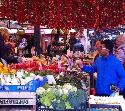 Enrica Rocca Cooking School Venice: Rialto Produce Market