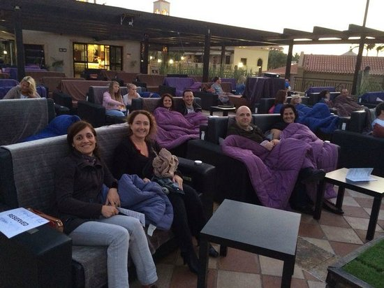 Moonlight Cinema : English class outing!