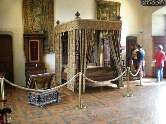 Chateau d'Amboise: Amboise royal bedroom