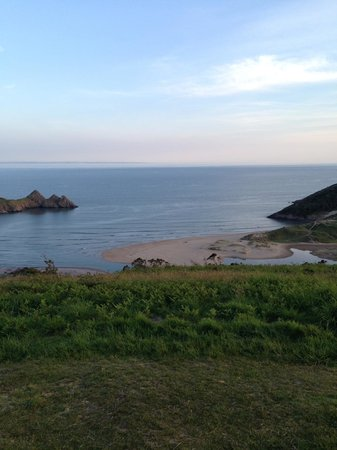 Three Cliffs Bay Holiday Park: lovely view