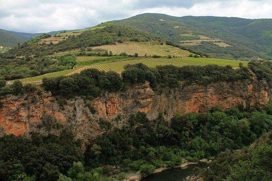 Domaine de Miravel: gorges