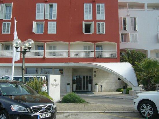 Valamar Riviera Hotel & Residence: main facade, entrance