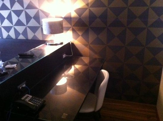 Hotel Nazionale: Camera singola desk