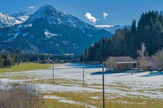Sonnenbichl Hotel am Rotfischbach: Aussicht im Winter