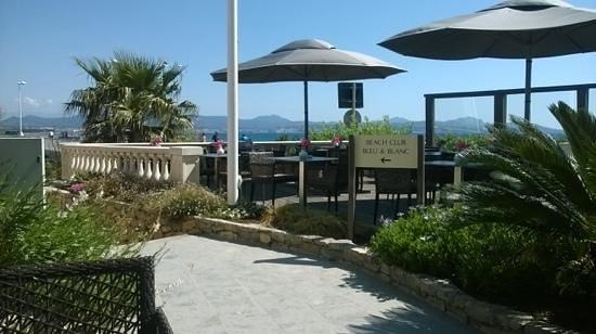 Hotel Saint Aygulf : vorstelijk ontbijt met prachtig uitzicht