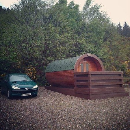 Loch Ness Highland Lodges: 'Shelob' Hobbit