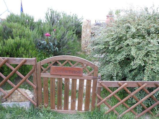 Borgo Casa al Vento: ingresso solarium