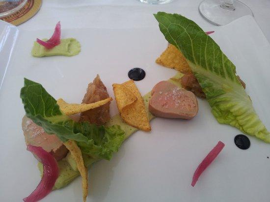 L'Atelier 115 : foie gras mi cuit  revisite assez surprenant non ,?