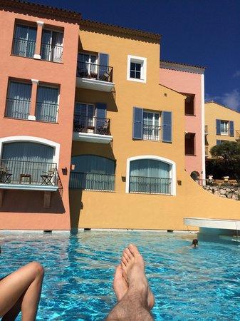 Hotel Byblos Saint Tropez: Piscine