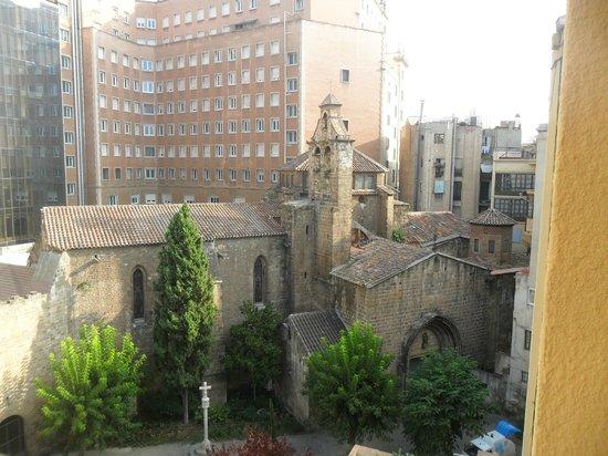Hotel Cortes: Panorama dalla nostra camera
