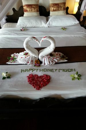 Santhiya Tree Koh Chang Resort : Honeymoon suite