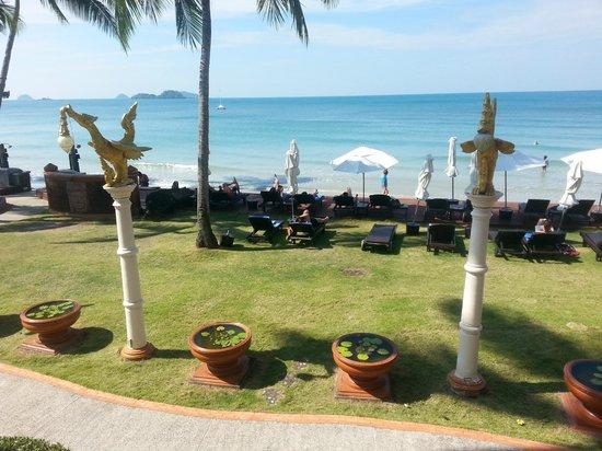 Santhiya Tree Koh Chang Resort: View from restaurant