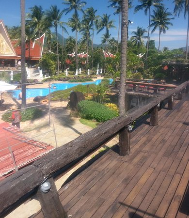 Santhiya Tree Koh Chang Resort: View from bar area