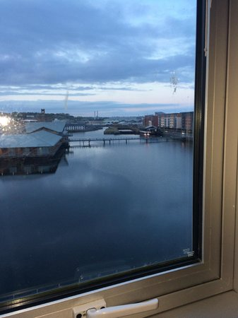 Apex City Quay Hotel & Spa: view from window