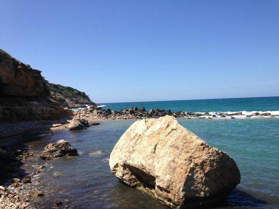Rethymno Palace : Crique accessible en voiture deouis l'hôtel GERANI