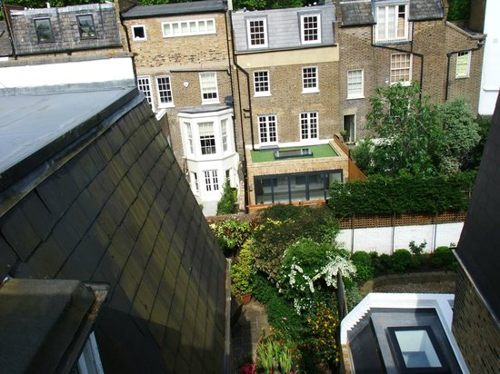 30 Stokenchurch Street: View from the bedroom window looking down on the garden