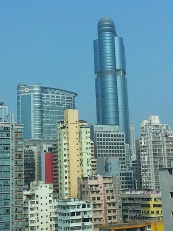 Stanford Hotel Hong Kong: can see Langham Place from room