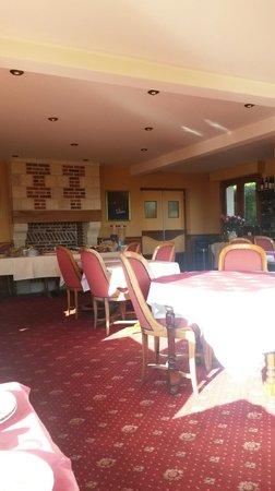 Hotel Romantica: Salle restaurant