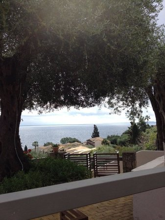 Aeolos Beach Resort: From the hill