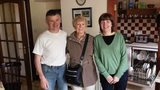 Devane's B&B: Our Hosts Kevin and Geraldine