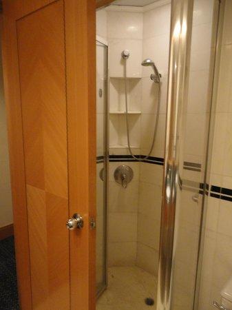 Metropark Hotel Causeway Bay Hong Kong: Shower