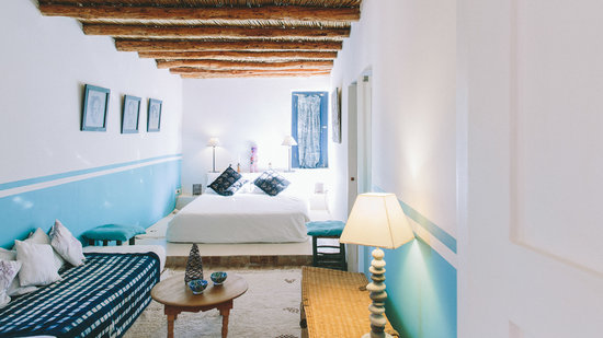 Riad Baoussala: Marabout Suite, double bed room