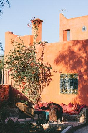 Riad Baoussala: House and garden
