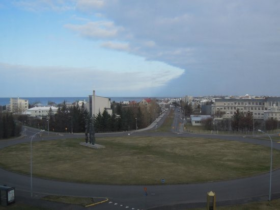 Radisson Blu Saga Hotel, Reykjavik: view from room