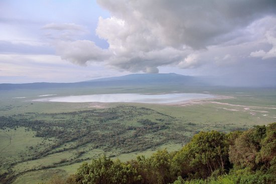 Ngorongoro Wildlife Lodge: Crater View