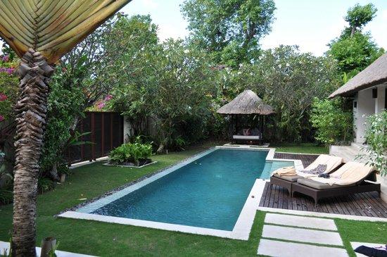 Villa Bali Asri: Pool area
