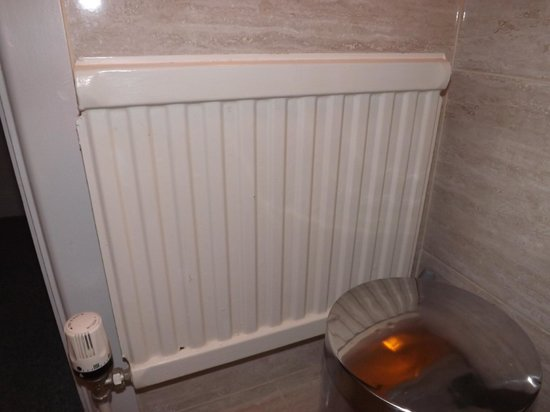 Ardree House: heater that is just for looks and does NOT turn on no matter how cold it is