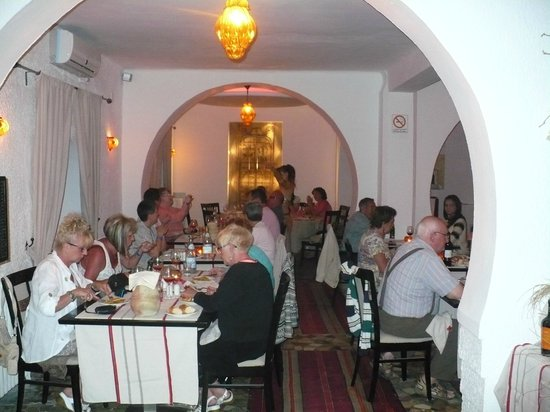 Restaurant Le Fort: ambiance :)