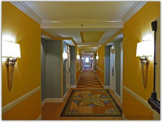 Hilton Orlando Bonnet Creek: Lindo padrão nos corredores