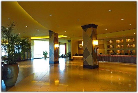 Hilton Orlando Bonnet Creek: Decoração primorosa desde a chegada