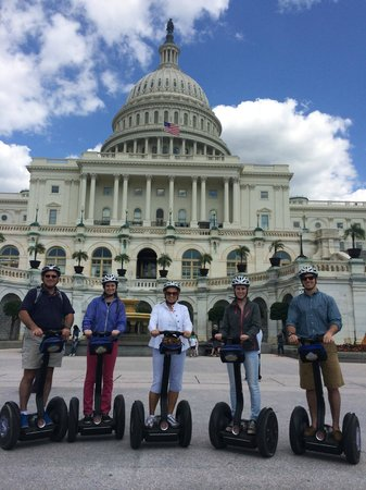 Bike and Roll DC: McGlades in DC on Segways!