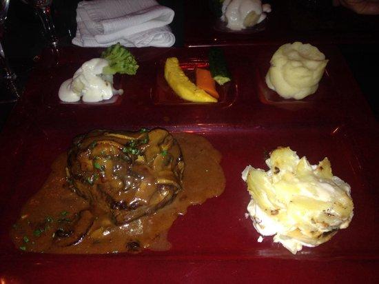 La Cultura Del Gusto : Fillet steak Rossini