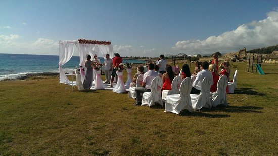 Capital Coast Resort & Spa: Свадебная церемония
