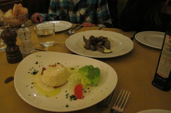 La Taverna di San Giuseppe: Alcachofras deliciosas!!