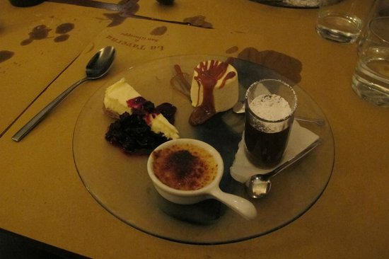 La Taverna di San Giuseppe: Sobremesas divinas!