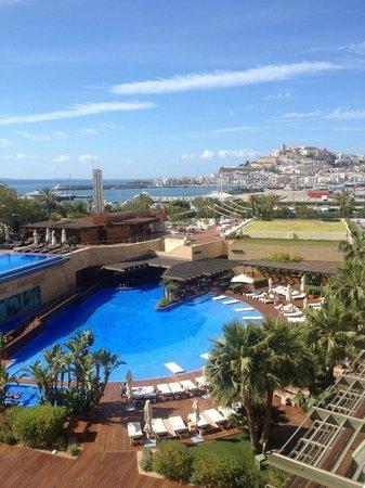 Ibiza Gran Hotel: Vista desde la habitación 426 ¡¡¡impresionante!!!