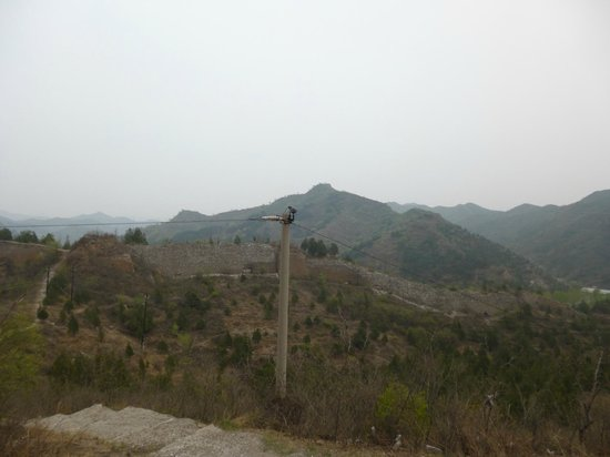 Great Wall Box House (Beijing): View from The Wall