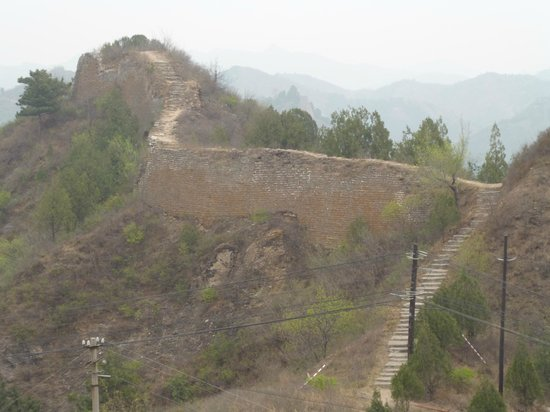 Great Wall Box House (Beijing): Great Wall..fantastically quiet