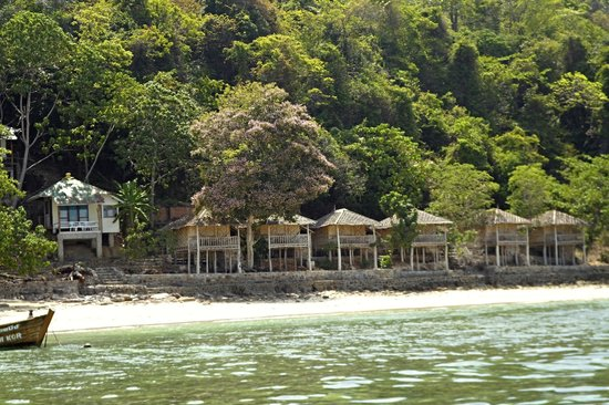 Tohko Beach Resort: Views