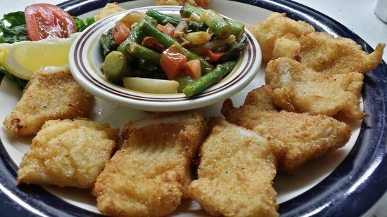 Sammy's Place: Fried Catfish Special- Yum!