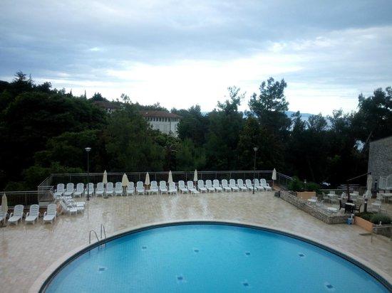 Miramar Hotel: view from balcony
