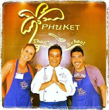 "Phuket Thai Cookery School: With the best teach in Phuket "" James"""