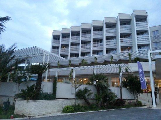 Hotel Delfin: Façade hôtel