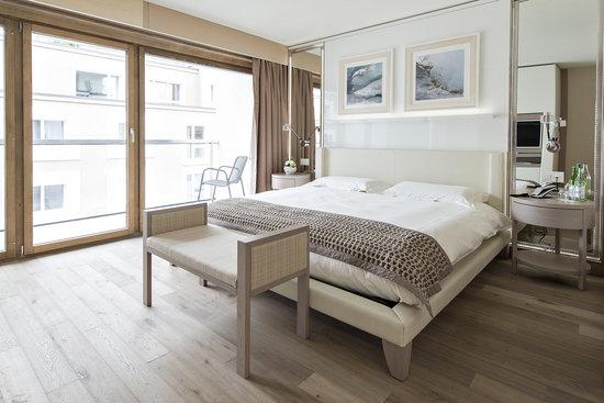 Hotel Piz St. Moritz: Room Deluxe
