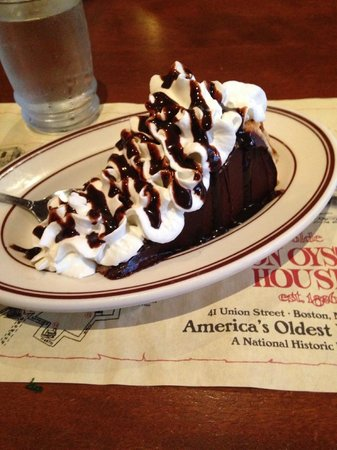 Union Oyster House: Boston Cream Pie
