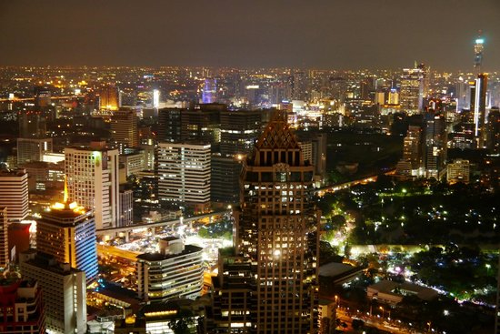 Vertigo Grill and Moon Bar: Bangkok Skyline